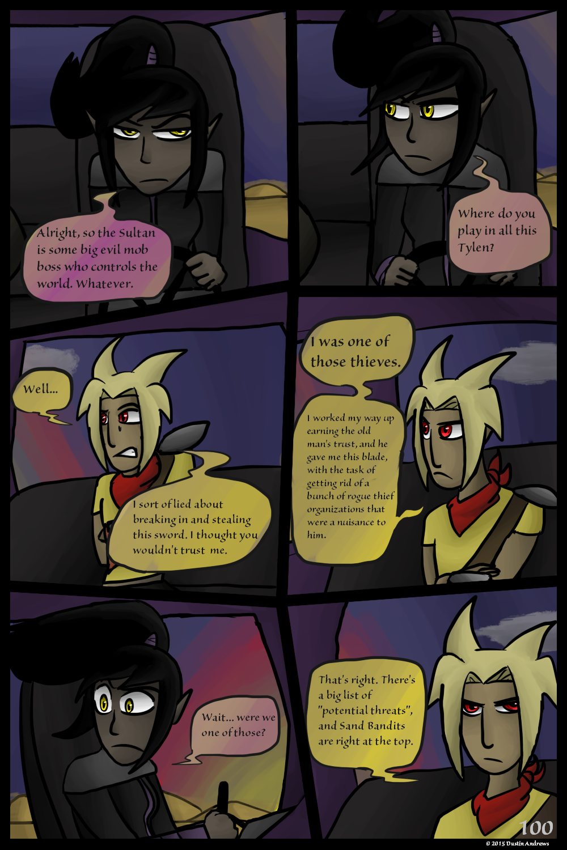 Sand Bandits – Page 100