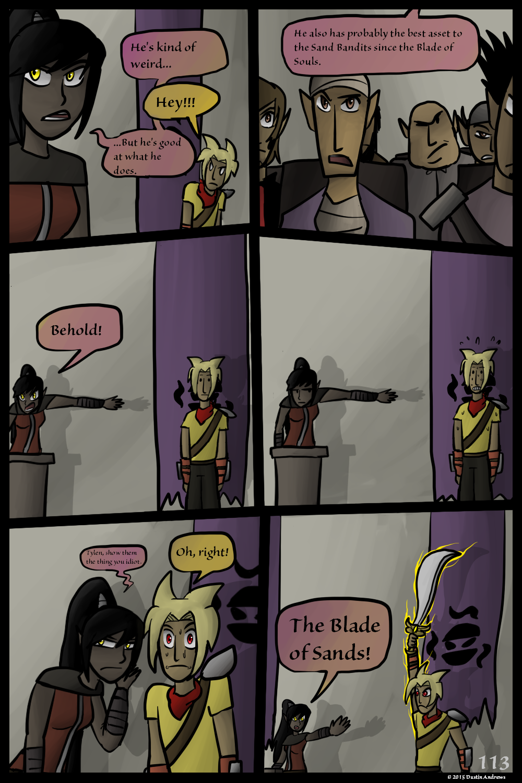 Sand Bandits – Page 113