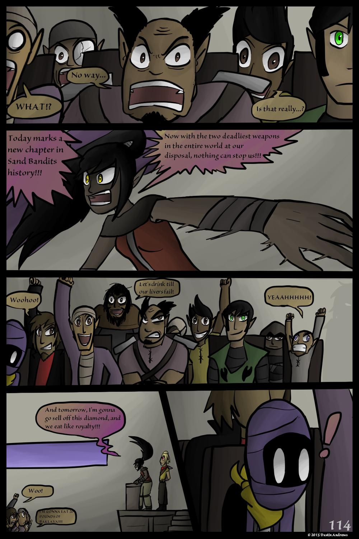Sand Bandits – Page 114