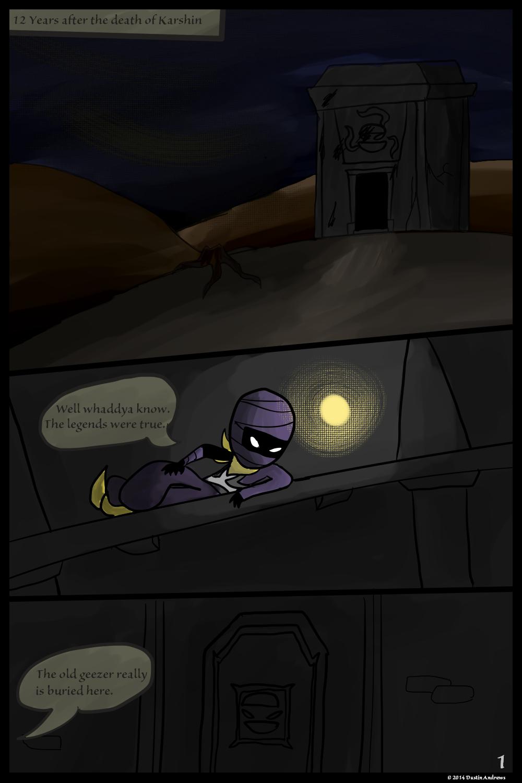Sand Bandits – Page 1